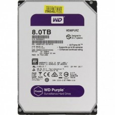 Жесткий диск 8Tb WD Purple WD80PURZ для видеонаблюдения