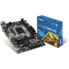 LGA1151 MSI H110M PRO-D
