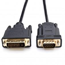 Кабель DVI to VGA 1.5м