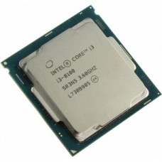 Процессор Intel Core i3 8100, 3.6 GHz, LGA1151, 65 W, 6 MB, Intel UHD Graphics 630, OEM