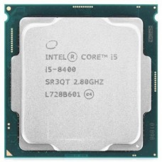 Процессор Intel Core i5 8400, 2.8 GHz, LGA1151, 65 W, 9 MB, Intel HD Graphics 630, OEM