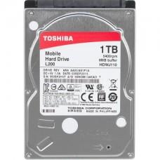 "Жесткий диск для ноутбука 1Tb, Toshiba L200, HDWJ110UZSVA, 2.5"", 5400 об/мин, 8Мб, толщина 9.5 мм, SATA"